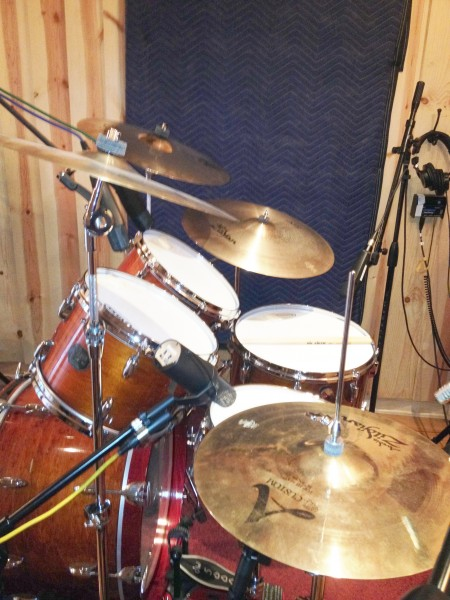 Sound Palace Blog - Drum Session Completed