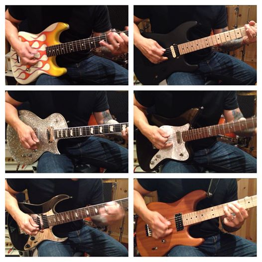 Sound Palace Blog - Greg Marra Records Video for Friedman Amps