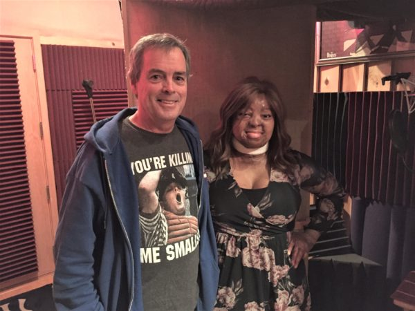 Sound Palace Blog - America's Got Talent Finalist, Kechi Okwuchi, recording songs at The Sound Palace