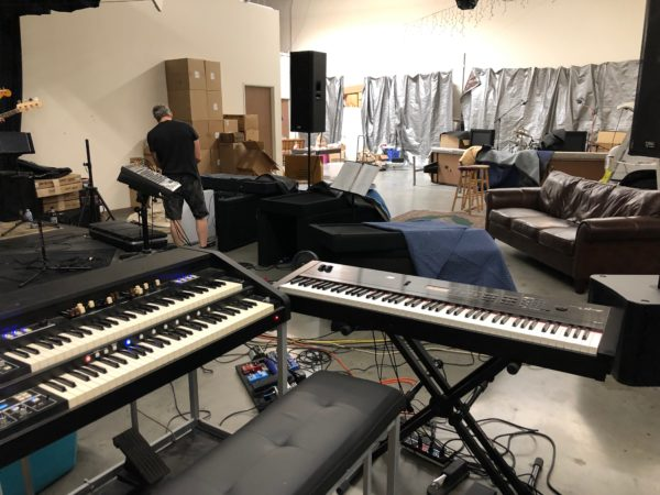 Sound Palace Blog - Recording The Ramifications band in Studio B
