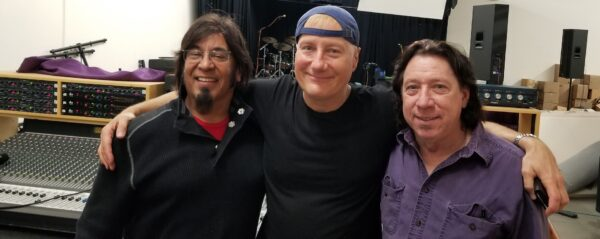 "Sound Palace Blog - Gregg Bissonette & Mick Mahan recording at Studio ""B"""